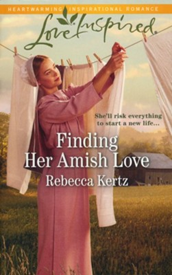 Finding Her Amish Love  -     By: Rebecca Kertz