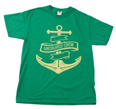 Anchored: Staff T-Shirt, 4X-Large (58-60)  -