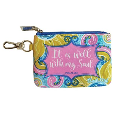 It Is Well Coin Purse  -