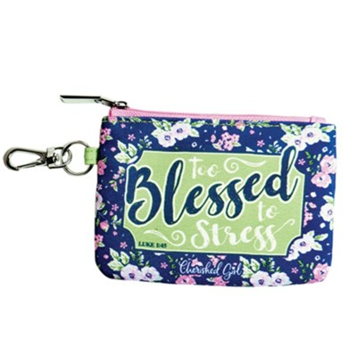 Too Blessed Coin Purse  -