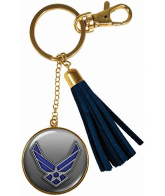 Air Force Keyring with Tassel  -