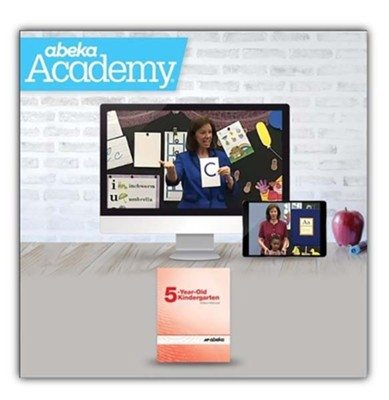 Abeka Academy Grade K5 Tuition Only Enrollment   -     By: Abeka