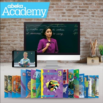 Abeka Academy Grade 3 Tuition and Books Enrollment     -     By: Abeka