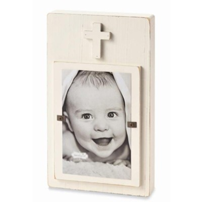Heaven Sent Photo Frame, White  -