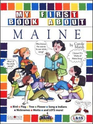 Maine My First Book, Grades K-5  -     By: Carole Marsh