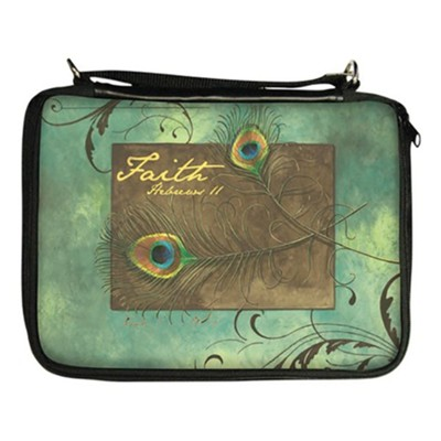 Faith, Hebrew 11 Bible Cover Organizer  -     By: Sandy Clough