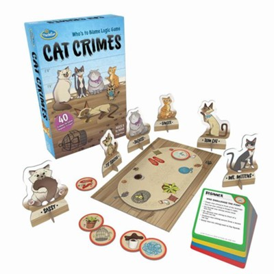 Cat Crimes, Single Player, Deductive Reasoning Game  -