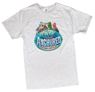 Anchored: Adult Theme T-Shirt, Small (34-36)  -