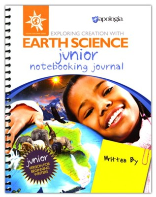 Exploring Creation with Earth Science Junior  Notebooking Journal  -     By: Rachael Yunis