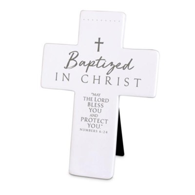 Baptized In Christ Cross, Numbers 6:24   -