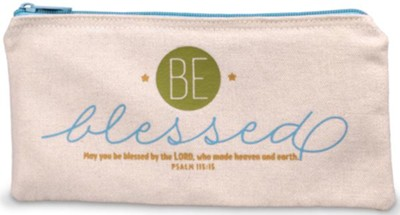Be Blessed Pencil Bag  -