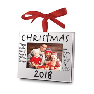 2018 Frame Ornament  -