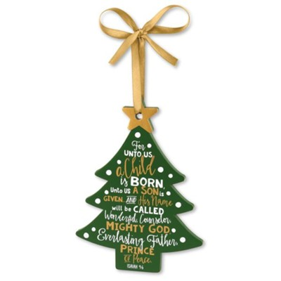 Jesus Tree Ornament  -