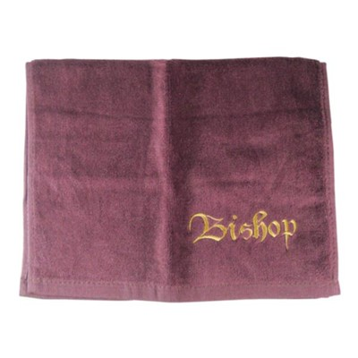Bishop Pastor Towel, Burgundy  -
