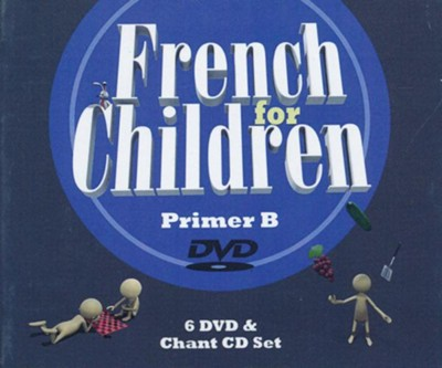 French for Children Primer B DVD & CD Set   -