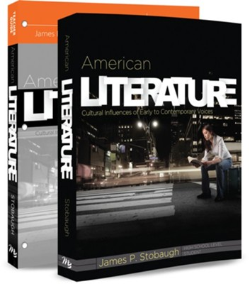 American Literature Pack, 9th-12th Grade, 2 Volumes  -     By: Dr. James Stobaugh