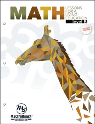 Math Lessons for a Living Education: Level 5, Grade 5   -     By: Angela O'Dell, Kyrsten Carlson