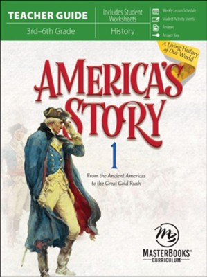 America's Story Volume 1 Teacher Guide  -     By: Angela O'Dell