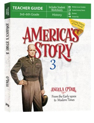 America's Story Volume 3 Teacher Guide  -     By: Angela O'Dell