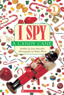 I Spy A Candy Cane (Level 1)  -     By: Jean Marzollo     Illustrated By: Walter Wick