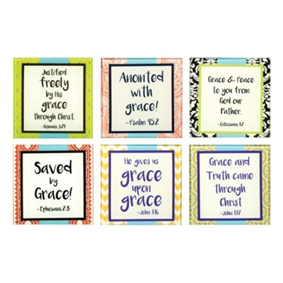 Grace, Glass Coasters, Pack of 6  -