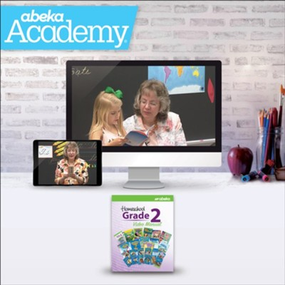 Abeka Academy Grade 2 Tuition Only Enrollment     -     By: Abeka