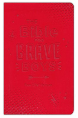 The Bible for Brave Boys: New Life Version, Leather, imitation  -     By: Compiled by Barbour Staff