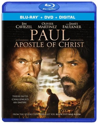Paul: Apostle of Christ, Blu-ray + DVD + Digital   -