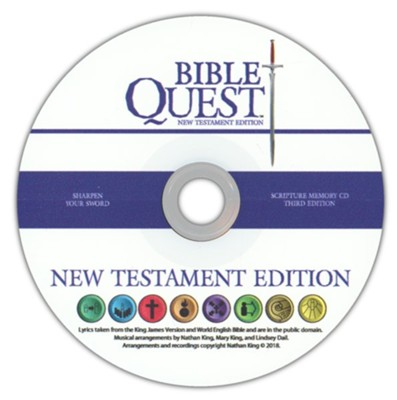 Bible Quest: A Classical Approach to Learning God's Word, New Testament CD Only (3rd Edition)  -     By: Nathan King