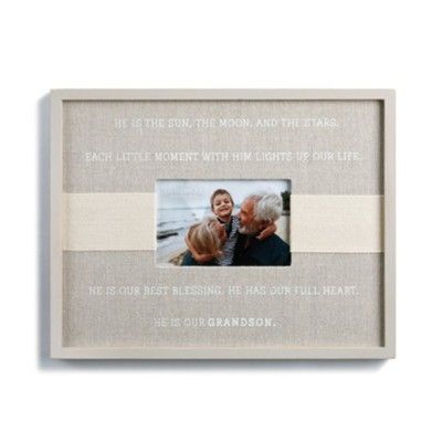 Blessings of a Grandson Frame  -