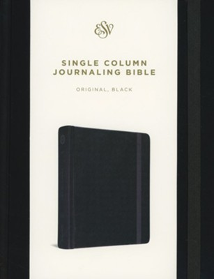 ESV Single Column Journaling Bible (Black)  -