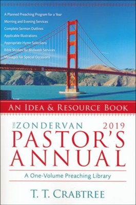 The Zondervan 2019 Pastor's Annual  -     By: T.T. Crabtree