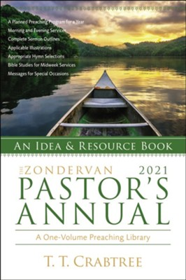 The Zondervan 2021 Pastor's Annual: An Idea and Resource Book  -     By: T.T. Crabtree