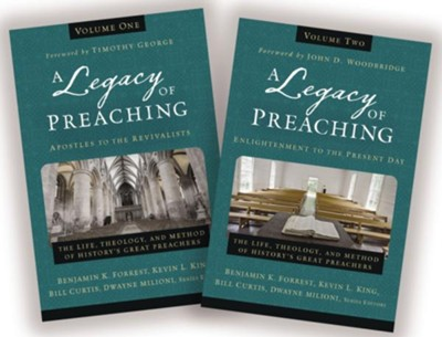 A Legacy of Preaching, Two-Volume Set  -     Edited By: Benjamin K. Forrest, Kevin L. King, Bill Curtis, Dwayne Milioni     By: Benjamin K. Forrest, Kevin L. King et al., eds.