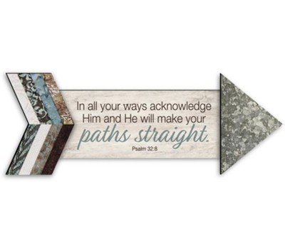 In All Your Ways, Pathways Arrow Magnet  -