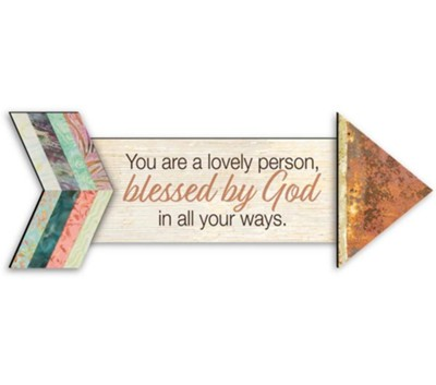 Blessed by God, Pathways Arrow Magnet  -