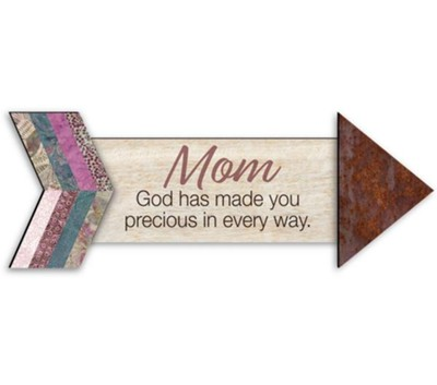 Mom, Pathways Arrow Magnet  -