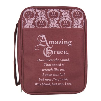 Amazing Grace Bible Cover, Large  -