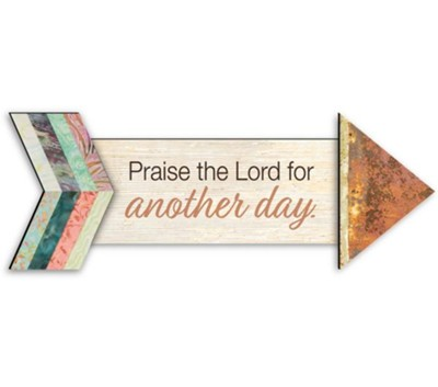 Praise the Lord, Pathways Arrow Magnet  -