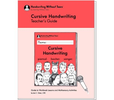 Cursive Handwriting Teacher's Guide (2018 Edition)   -