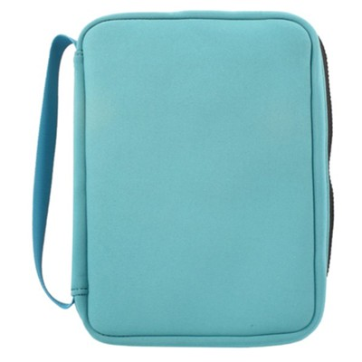 Neoprene Bible Cover, Teal, Small  -