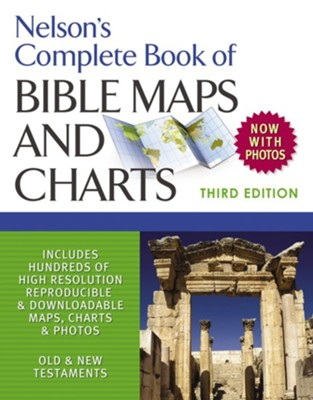 Nelson's Complete Book of Bible Maps and Charts, 3rd Edition - eBook  -