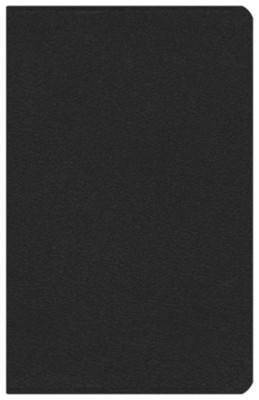 ESV Vest Pocket New Testament with Psalms and Proverbs--soft leather-look, black  -