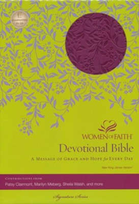 NKJV Women of Faith Devotional Bible  -     By: Women of Faith