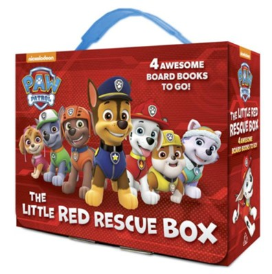 Paw Patrol: The Little Red Rescue Box  -     By: Editors
