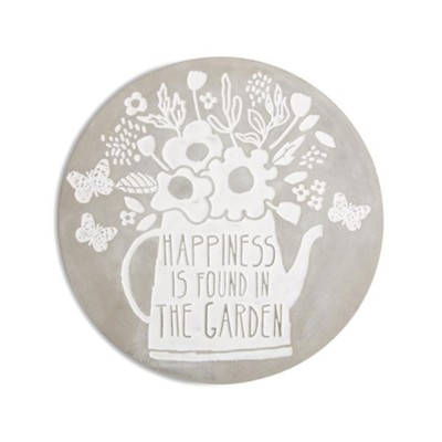 Happiness is Found in the Garden, Stepping Stone  -