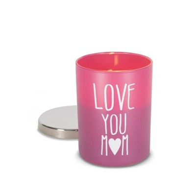 Love You Mom, Citrus Candle  -