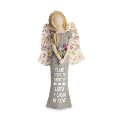 Plant Seeds of Kindness, Angel Figurine  -