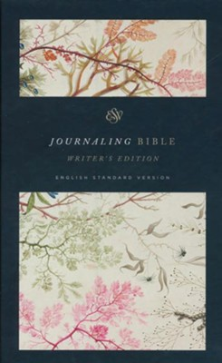 ESV Journaling Bible, Writer's Edition (Elegant Grace Design)  -