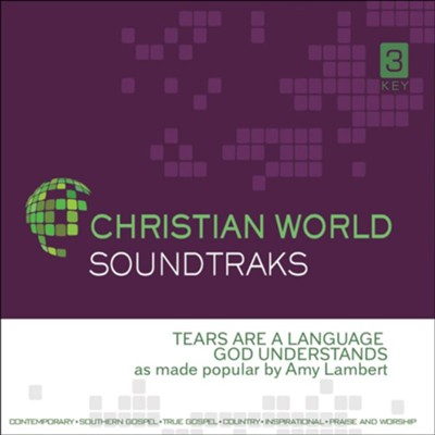 Tears Are A Language God Understands, Accompaniment CD  -     By: Amy Lambert